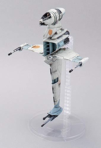 Revell Bandai 01208 Star Wars Bandai B-Wing Fighter Disney originalgetreuer Modellbausatz für Experten, unlackiert
