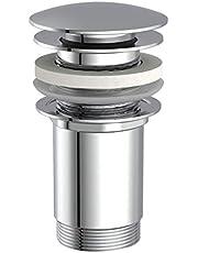 Ablaufventil Ablaufgarnitur Abfluss Ventil mit Zugstangen für Bad WC