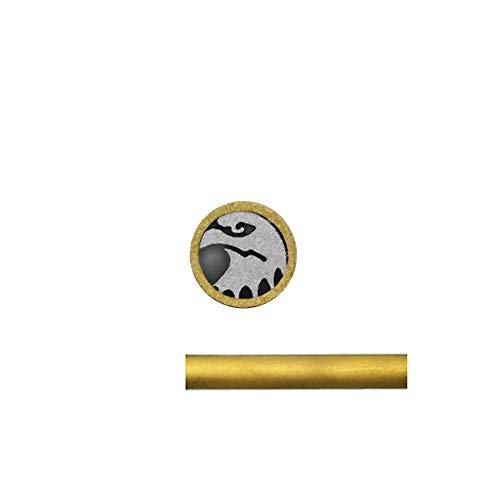 Mosaic Pins Knife Handle,Hunting Knives Fastener Stud Rivets,Mosaic Screw Nail (5mm, Eagle)