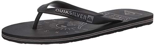 Quiksilver Molokai Tijuana Zapatos de senderismo para hombre, negro (Negro/Gris/Negro Nw), 39 EU