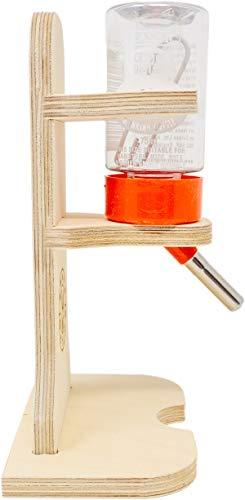 Getzoo Tränke aus Holz + Classic® Trinkflasche 75 ml - 3