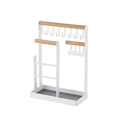 Mogzank Metall Ohrring Halskette Lager Regal Kreative Vertikale Wohnen Zimmer Schlafzimmer Schmuck Doppel Lager Regal