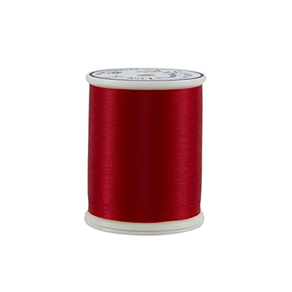 Superior Threads 11401-627 Bright Red 60W Bottom Line Polyester Thread, 1420 yd