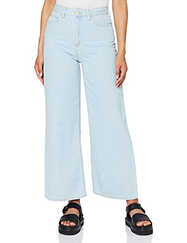 Lee Cropped A Line Flare Jeans, Ore Chapado, 32W x 33L para Mujer