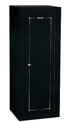 Stack-On GCB-18C Steel 18-Gun Convertible Steel Security Cabinet, Black
