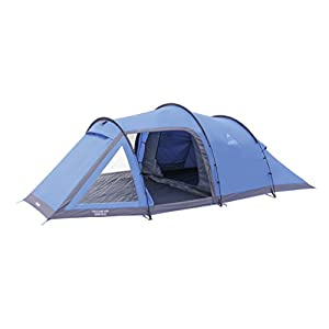 Vango Waterproof Venture 450 Outdoor Tunnel Tent available in Blue - 4 Persons