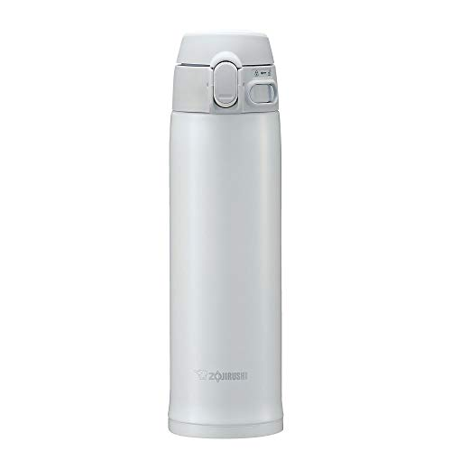 Zojirushi SM-TA48WA Stainless Steel Vacuum Insulated Mug, 16-Ounce, White