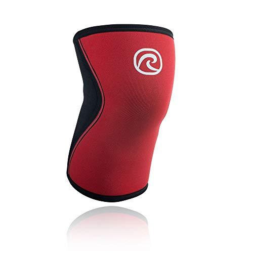 Rehband 5 mm Neopren Rx-Kniebandage, Größe:XL, Farbe:rot