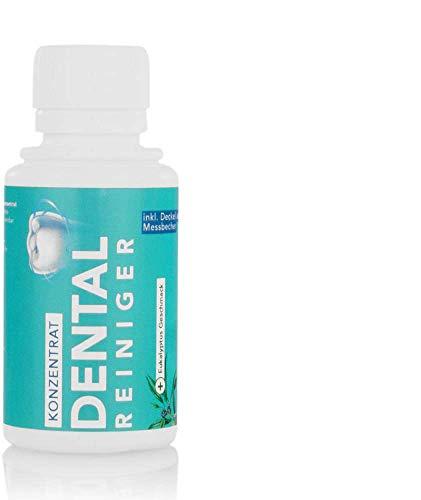 Dental Ultraschallreiniger Konzentrat 100ml – Reinigungskonzentrat für jedes Ultraschallreinigungsgerät für Zahnprothesen, Gebisse, Zahnersatz – Prothesenreiniger Ultraschallbad (100 ml)