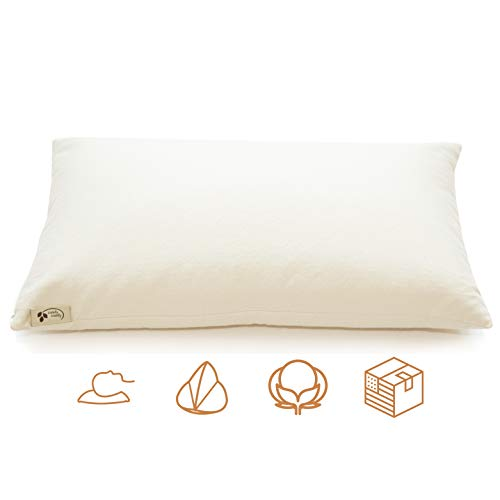 ComfyComfy Premium Buckwheat Pillow, Classic Size (14