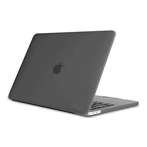 Fintie Hülle für MacBook Pro 13 (2019 2018 2017 2016 Freisetzung) A2159 / A1989 / A1706 / A1708 - Ultradünne Plastik Hartschale Schutzhülle Snap Case für 13 Zoll MacBook Pro, Grau