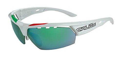 Salice 005ITARW - Gafas de Ciclismo, Color Blanco, Talla ún