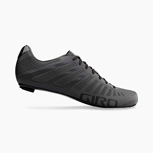 Giro Herren Empire SLX Triathlon/Aero|Rennrad Schuhe, Carbon Black, 44,5