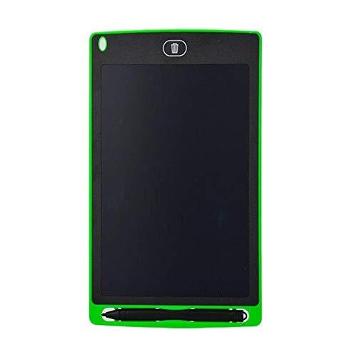 LLYX 8,5-Zoll-Schreibzeichnungstablett Notizblock Digitale LCD-Grafikkarte Handschrift Bulletin Board für Bildungsunternehmen, Grün, China