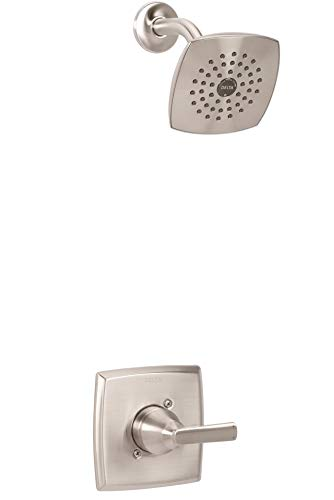 Delta Faucet Ashlyn 14 Series Single-Handle Shower Faucet, Shower Trim Kit with Single-Spray Touch-Clean Shower Head, Stainless T14264-SS (Valve Not Included)
