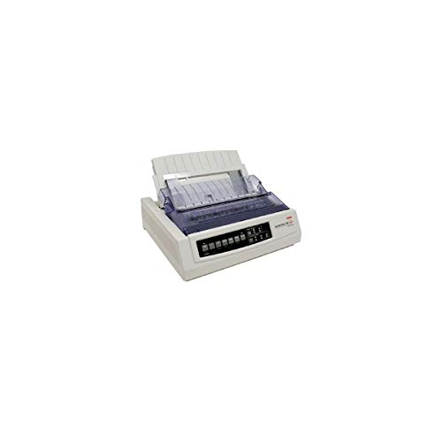 Great Features Of OKI Data Microline 320 Turbo Serial Dot Matrix Printer, 435 cps, 240x216dpi, Seria...