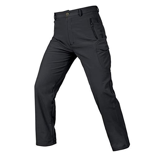 HOSD Soft Shell Tactical Camouflage Pants Men Combat Waterproof Military Cargo Warm Fleece Camo Winter Warm Army Modis Pantalones