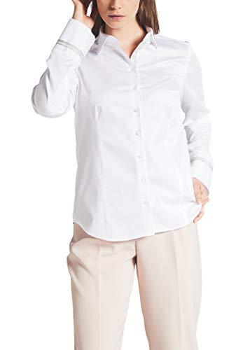 eterna Langarm Bluse Modern Classic unifarben