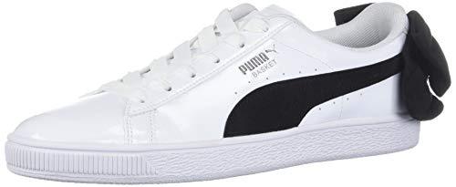 Puma Basket Bow SB Wn's 367353 03 Zapatillas para Mujer, White/Black, 25.5