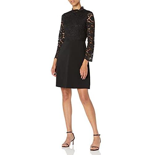 Lark & Ro Long Sleeve Mixed Lace Dress Dresses, Cruz V2 Fresh Foam, US 4 (EU S)