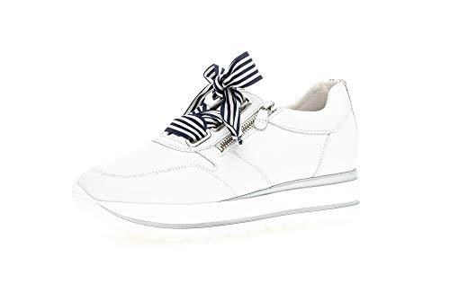 Gabor Jollys 43.412 - Zapatillas para mujer, color Blanco, talla 35.5 EU