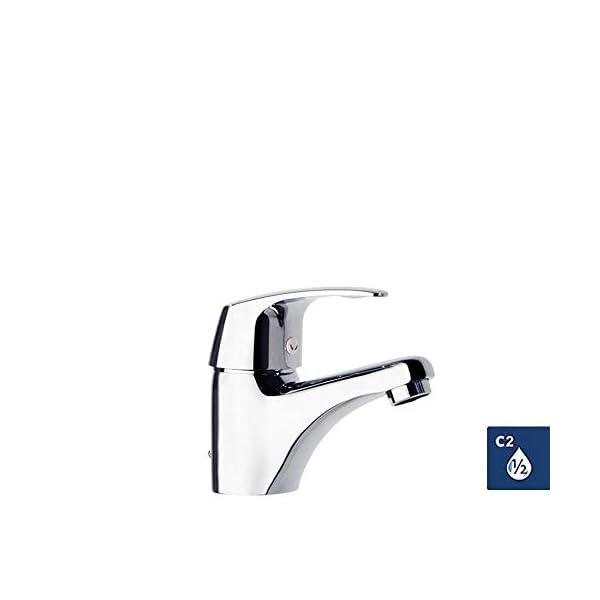 Ramon Soler Vulcano Energy 6901K – Grifo monomando para lavabo