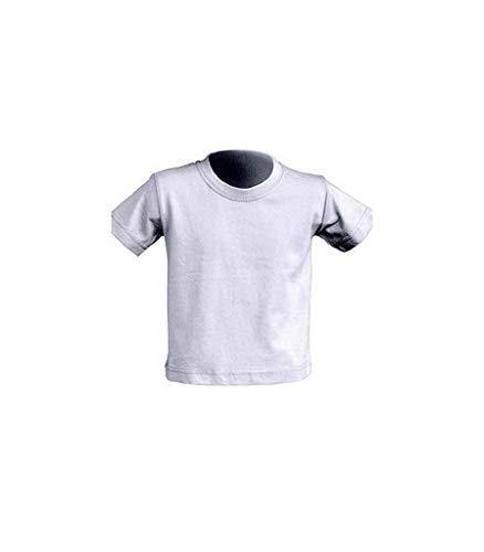 Camisetas básicas niños Baratas. Camiseta básica niño en Color Blanco. Camisera básica para bebé.