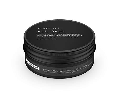Bodylines Intense Hand Skin & Hair Repair Balm 100% Natural Organic Vegan, Avocado Oil, Cocoa & Shea Butter & Vitamin E…