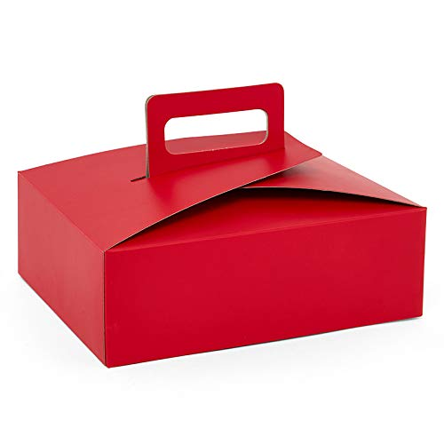 Flat Take-Out Boxes with Handle - Package 3