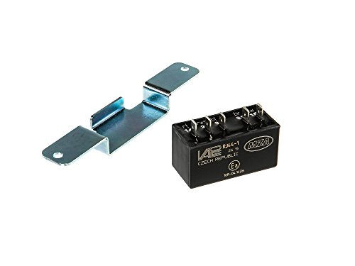 VAPE Set: Steuerteil VAPE RJ44-1 mit Halter - f. alle SIMSON SLEZ 8305.1 und 8305.2 Typen - Elektronikzündung
