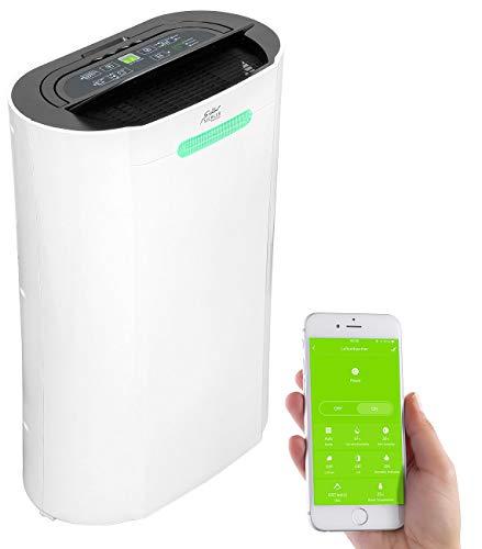 Sichler Haushaltsgeräte Dehumidifier: Luftentfeuchter, 20 l/Tag, für Amazon Alexa & Google Assistant, 365 W (WLAN Luftreiniger)
