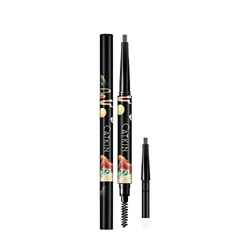 CATKIN New Eyebrow Pencil Automaric Grey Brown Waterproof Long Lasting (C04 New Brown)…