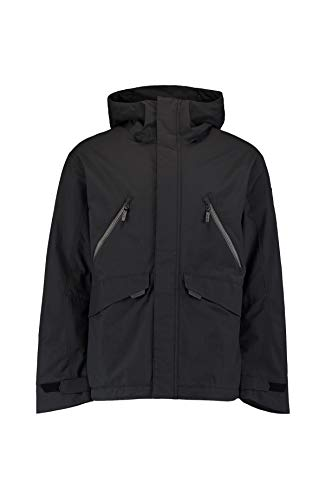 O'NEILL LM Urban Texture Jacket Chaqueta Hombre con Capucha, Black out, S