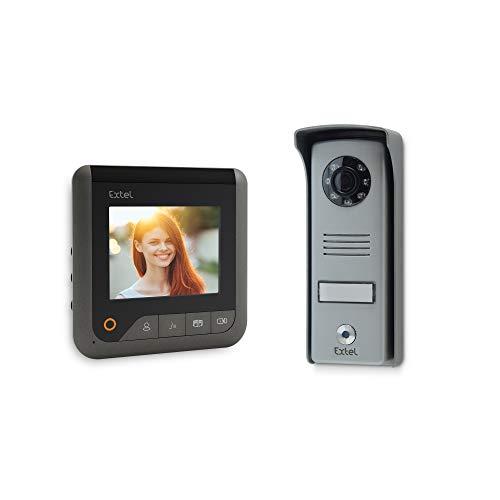 EXTEL 720299 Zubehör für Videotelefon 1 W, 1 Stück, grau