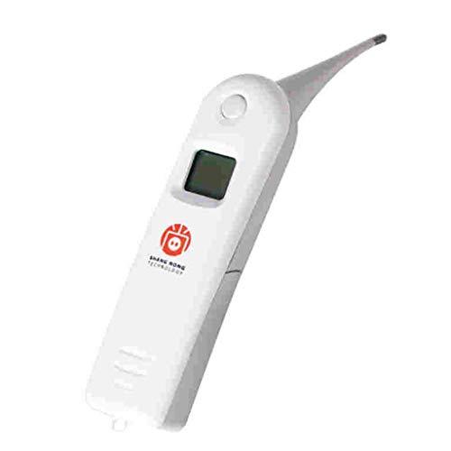 WT-DDJJK Medidores Digitales, termómetro Veterinario Digital Profesional para Mascotas para Ganado Animal Que Mide rectalmente la Temperatura Corporal