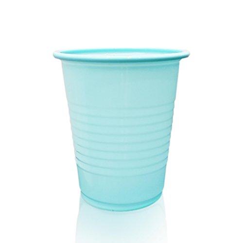 Blue Safe-Dent Disposable 5 oz Plastic Medical Dental Cups 1000 Count