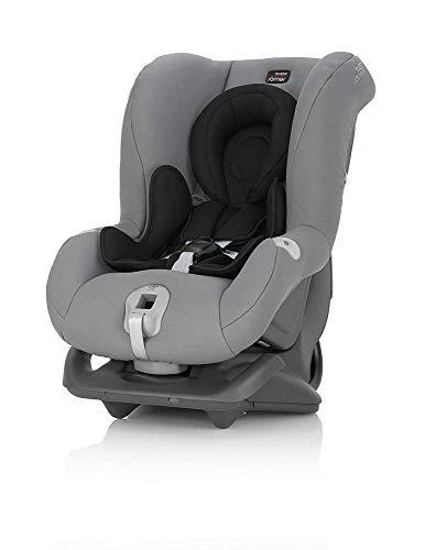 Britax Römer Kindersitz 0 - 4 Jahre I 0 - 18 kg I FIRST CLASS PLUS Autositz Gruppe 0+/1 I Steel Grey