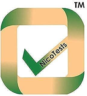 NicoTests(TM) Nicotine Second Hand Smoke and Vape Test – 5 Pieces