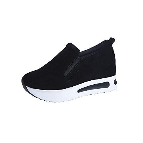 Damen Schuhe, Cramberdy Schuhe Damen Turnschuhe Damen Sneaker Schuhe Sommer Frauen Outdoor Casual Sportschuhe Dicke Sohlen Luftkissenschuhe Sneakers Atmungsaktiv Freizeit Freizeitschuhe Laufschuhe
