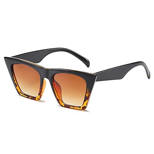 Gafas de Sol cuadradas Vintage de Ojo de Gato Mini Gafas Unisex Gafas de Sol Retro con protección UV para niños Adultos Ciclismo al Aire Libre Senderismo