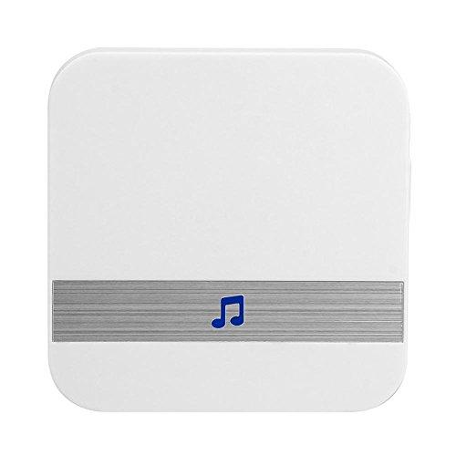Ahomi Anytek B10 AC 90V-250V 52 Chimes Wireless WiFi-deurbel-ontvanger (EU-stekker)
