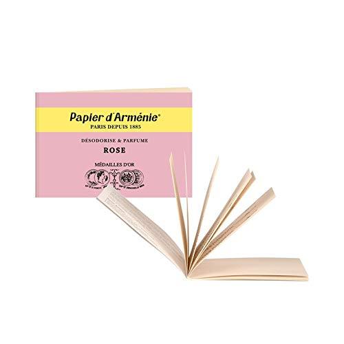 Papier d´Arménie + 2 Rose Heftchen