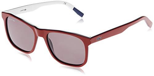 Lacoste L601SND, Acetate Occhiali da Sole Red Unisex Adulto, Multicolore, Standard