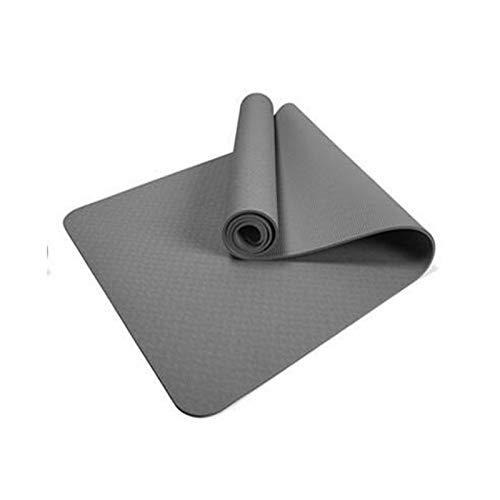 YSSWJ Ysswjzz Gymnastikmatte. Tragegurt I Hautfreundliche Fitnessmatte 183 x 61/68x 0.6 cm - versch. Farben Phthalatfreie Yogamatte (Size : 61cm+JK)
