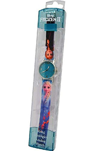 Frozen Reloj analogico 2 Pulsera, Adultos Unisex, Multicolor, Unico