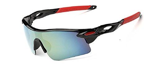 Embryform Gafas Deportivas, Gafas De Ciclismo, Para Esquiar Golf Riding Conducir Pesca...
