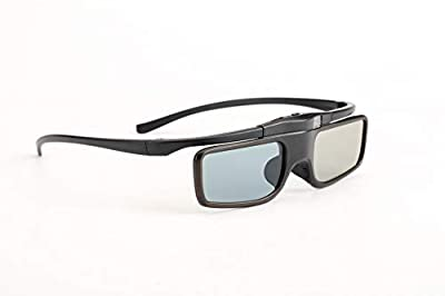 Cocar RF 3D Glasses, Rechargeable Active Shutter RF 3D Eyewear Suitable for RF 3D TV & Projectors, for Sony Epson Samsung JVC Sharp, Compatible with SSG-5100GB, AN3DG40, TDG-BT500A, Pack of 2