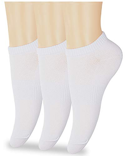 (58% OFF) 3-Pair Ancle Socks for Women $8.88 Deal
