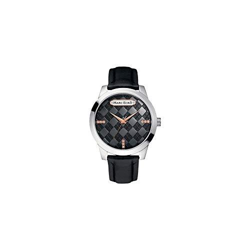 Marc Ecko Reloj Análogo clásico para Hombre de Cuarzo con Correa en Cuero E11591G1