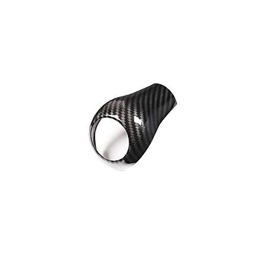 JJJJD per Mercedes Benz A c E G per GLK CLS Class per W169 W203 W204 per W211 W212 W463 per X204 W219 W218 Auto Gear Shift Knob Cover Trim Accessori (Color : Carbon Fiber)